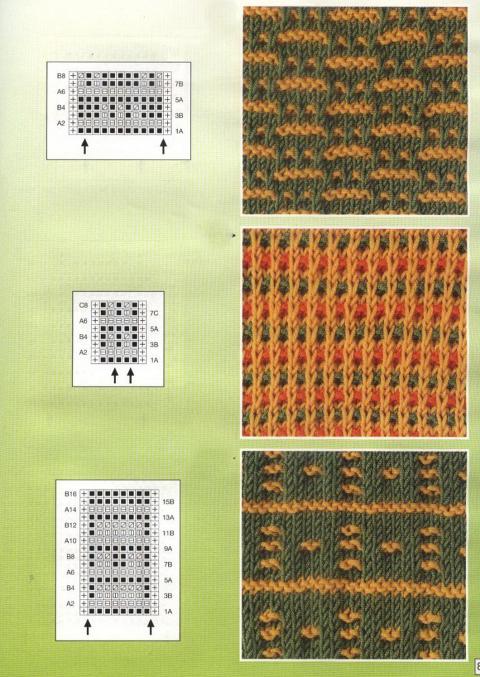 Узоры вязания на спицах скачать