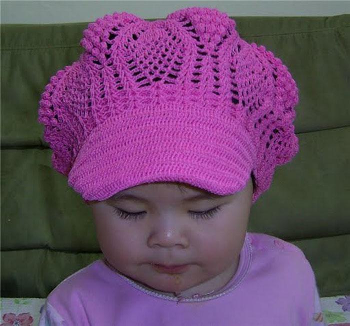 Схемы вязания детской шапочки спицами для начинающих