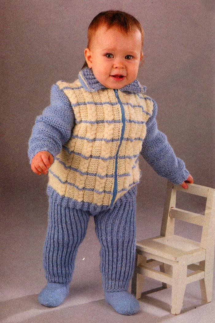 Вяжем костюм для ребенка